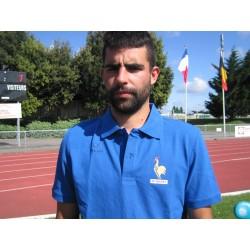 Polo offciel équipe de France FFH homme 2014/2015