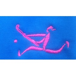 Polo homme bleu roi Hockey spirit by Erima