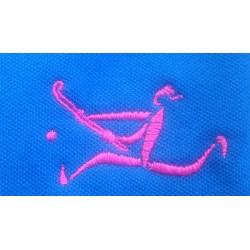 Polo femme bleu roi Hockey spirit by Erima
