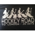 T SHIRT 100% coton Hockey Road to London JO 2012