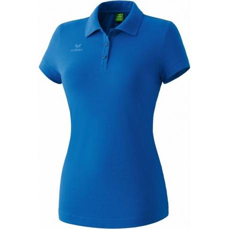 Polo ERIMA Teamsport bleu roi femme