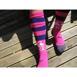 PAIRE DE CHAUSSETTES RAYEES PERSONNALISEES
