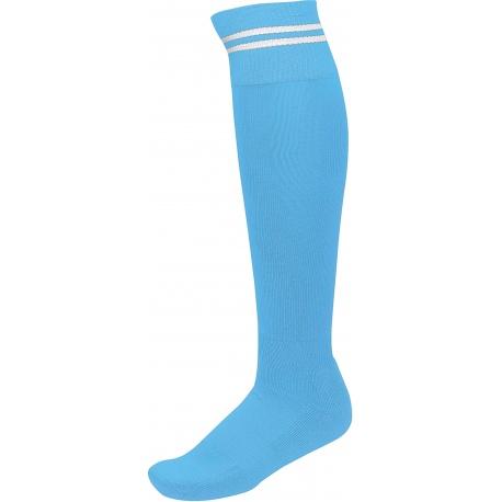 Paire de chaussettes sport ciel rayé