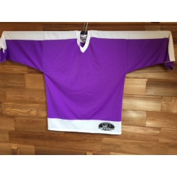 Maillot goal hockey GRYPHON violet blanc