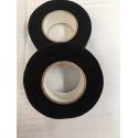 Rouleau de tape noir 15m