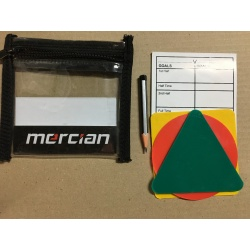 Pochette de Cartons d'avertissements MERCIAN