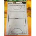 Coaching clipboard pour hockey sur gazon