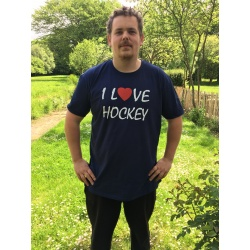 T-shirt l Love Hockey